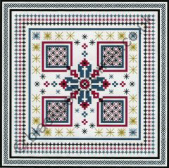 CH0128 - Star Stitch Sampler - 4.50 GBP
