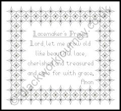 CH0147 - Lacemaker's Prayer - 4.50 GBP