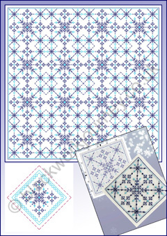 CH0401 - Snowflake Winter - 5.00 GBP