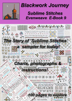 EB0009 - Sublime Stitches Evenweave - 8.00 GBP