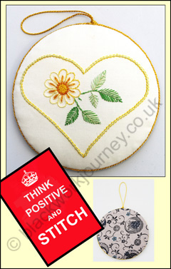 FR0183 - Embroidered Heart