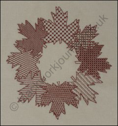 PR0019 - Maple Leaf Wreath - 4.50 GBP