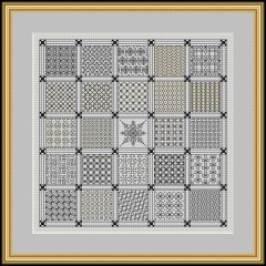RG0016 - Squares Within Squares By Ilene