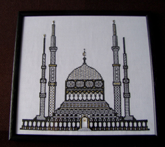 RG0127 - Blue Mosque By Jean W